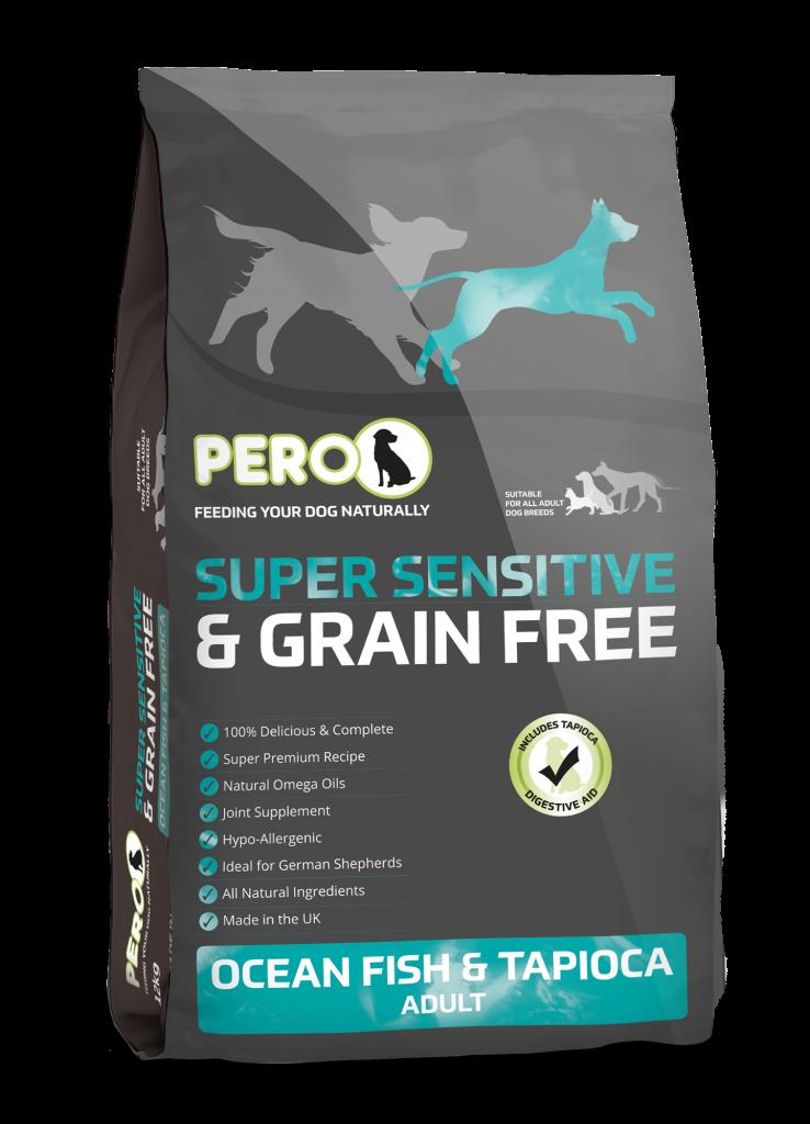 Pero Super Sentsitive Grain Free Adult Ocean Fish & Tapioca 12kg