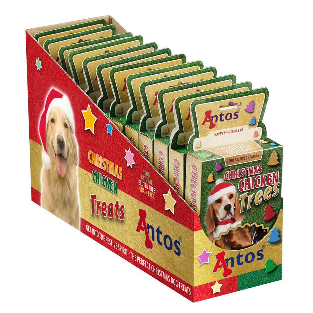 Christmas Chicken Trees Treats for Dogs 100g