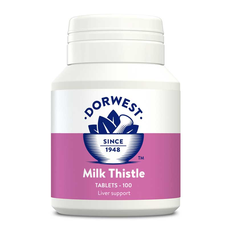 Dorwest Milk Thistle Tablets for Dogs & Cats