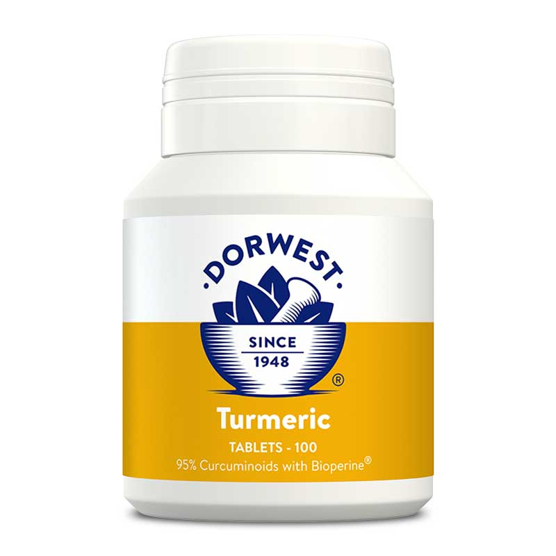 Dorwest Turmeric Tablets for Dogs & Cats