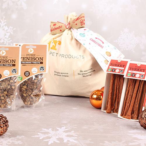 Christmas Gift Sack Natural Treats
